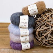 Laine à tricoter - Rowan - Rowan kidsilk haze