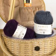Laine à tricoter - Rowan - Rowan mohair haze