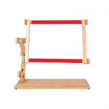 Métier à broder - Luca-S - Métier en bois à clips pour table