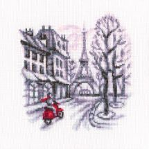 Kit point de croix - RTO - Dans les rues de Paris 1