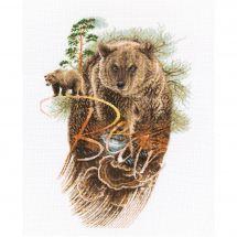 Kit point de croix - RTO - Ours des forêts