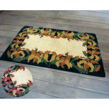 Kit de tapis point noué - Smyrnalaine - Les lys roses