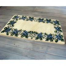 Kit de tapis point noué - Smyrnalaine - Thèbes