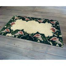 Kit de tapis point noué - Smyrnalaine - Les arums