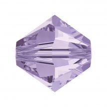 Perles et sequins - Rowan - Paquet de 50 perles Swarovski 6 mm - Violet