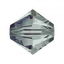 Perles et sequins - Rowan - Paquet de 50 perles Swarovski 6 mm - Black Diamond