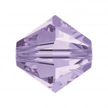 Perles et sequins - Rowan - Paquet de 25 perles Swarovski 8 mm - Violet