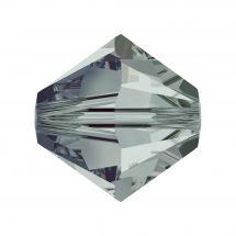 Perles et sequins - Rowan - Paquet de 25 perles Swarovski 8 mm - Black Diamond