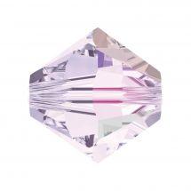 Perles et sequins - Rowan - Paquet de 210 perles Swarovski - Mauve Selection