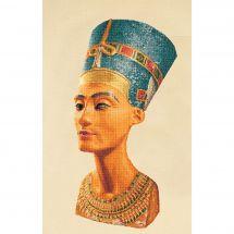 Kit point de croix - Théa Gouverneur - Nefertiti