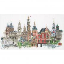 Kit point de croix - Théa Gouverneur - Amsterdam
