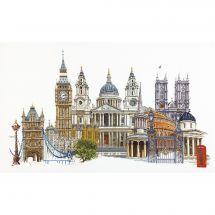 Kit point de croix - Théa Gouverneur - Londres