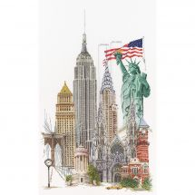 Kit point de croix - Théa Gouverneur - New York