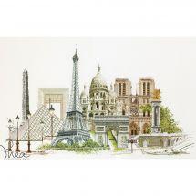 Kit point de croix - Théa Gouverneur - Paris