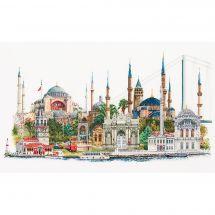 Kit point de croix - Théa Gouverneur - Istanbul