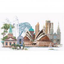 Kit point de croix - Théa Gouverneur - Sydney