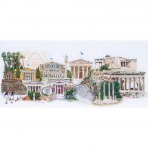 Kit point de croix - Théa Gouverneur - Athènes
