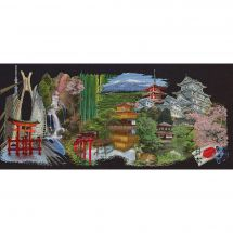 Kit point de croix - Théa Gouverneur - Japon