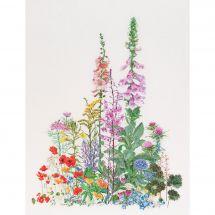 Kit point de croix - Théa Gouverneur - Fleurs sauvages