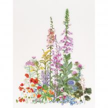 Kit point de croix - Théa Gouverneur - Fleurs sauvages américaines