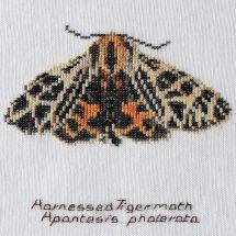 Kit point de croix - Théa Gouverneur - Papillon tigre