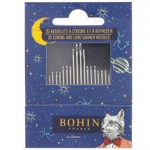 Accessoire couture - Bohin - 20 aiguilles à coudre et à repriser - Cabinet de curiosité