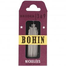 Aiguilles à broder - Bohin - Assortiment d'aiguilles à broder n°3 à n° 9