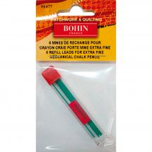 Crayon de marquage - Bohin - Mines rechange vertes