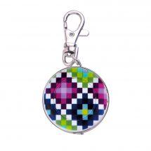 Mètre enrouleur - Bohin - Centimètre couture porte clés - pixel