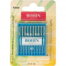 Aiguilles machine à coudre - Bohin - 10 Aiguilles standard n° 90/14