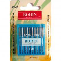 Aiguilles machine à coudre - Bohin - 10 Aiguilles standard n°16/100