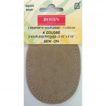 Renforts à coudre - Bohin - Renforts stretch à coudre - beige