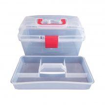 Boîte à couture - Bohin - Boîte transparente