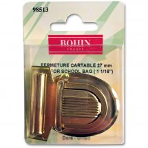 Fermeture pour sac - Prym - Fermeture cartable 27 mm - doré