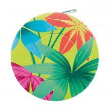 Mètre enrouleur - Bohin - Centimètre couture jungle - Feuillage multicolore