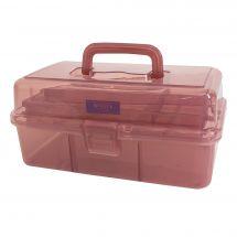 Rangement - Bohin - Boîte de rangement vieux rose