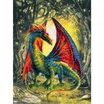 Kit point de croix - Riolis - Dragon de la forêt
