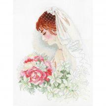 Kit point de croix - Riolis - Jeune mariée