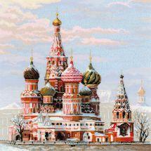 Kit point de croix - Riolis - Moscou cathédrale St Basil
