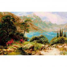Kit point de croix - Riolis - Paysage de montagne