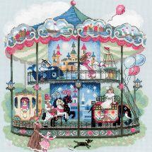 Kit point de croix - Riolis - Le carrousel