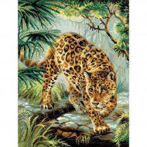 Kit point de croix - Riolis - Occupant de la jungle