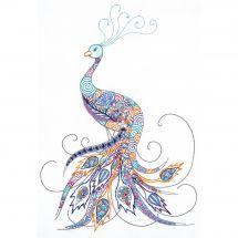 Kit au point de broderie  - Riolis - Oiseau de la chance