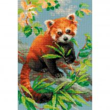 Kit point de croix - Riolis - Panda roux