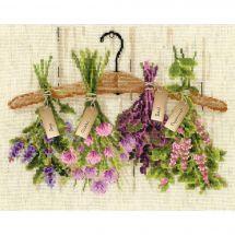 Kit point de croix - Riolis - Herbes