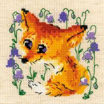 Kit point de croix - Riolis - Petit renard