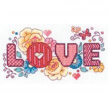 Kit point de croix - Riolis - Love