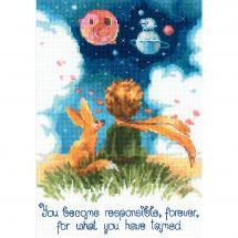 Kit point de croix - Riolis - Le petit Prince