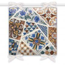 Kit de coussin à broder - Riolis - Coussin mosaïque