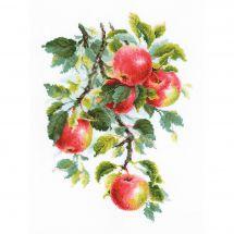 Kit point de croix - Riolis - Pommes juteuses